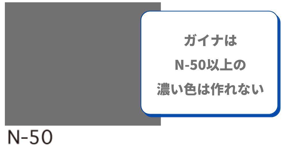 ガイナ色 N-50