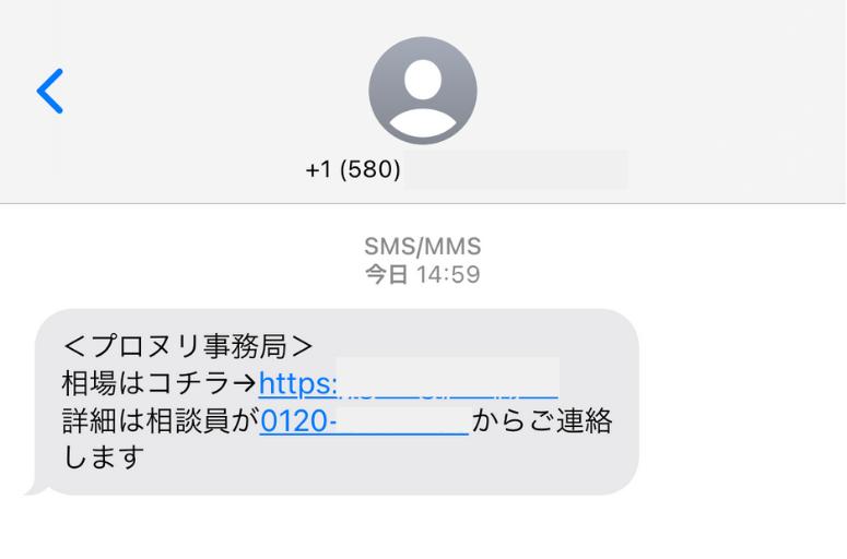 プロヌリ ショートメール